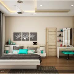 Traditional Treat:  Bedroom by Premdas Krishna