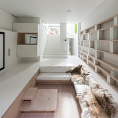 gc House: Salas multimedia de estilo minimalista de Your Architect London