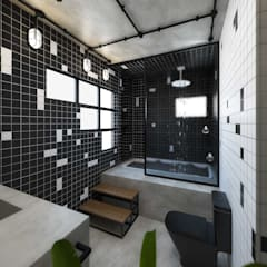 Phòng tắm by TÉRREO arquitetos