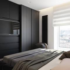 NEVSKY STYLE Спальня в эклектичном стиле от ART Studio Design & Construction Эклектичный