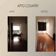 Pulida pisos madera de Erick Becerra Arquitecto