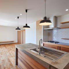 آشپزخانه by 一級建築士事務所 ima建築設計室