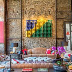 lobby: Hotéis  por Jean de Just design de interiores
