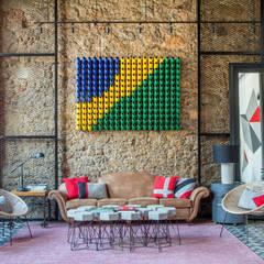 Lobby hotel : Hotéis  por Jean de Just design de interiores