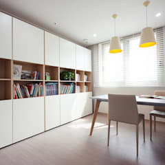 minimalistic Study/office by homelatte