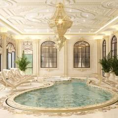 Luxurious pool design from Katrina Antonovich:  Pool by Luxury Antonovich Design
