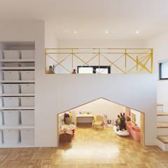 اتاق کودک توسط미우가 디자인 스튜디오