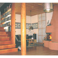 sitzecke kamin wohnliche einrichtungsideen, mediterrane wohnzimmer ideen & inspiration | homify, Design ideen