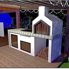 El Ensueño Villa de Leyva: Hoteles de estilo  por Design For You SAS