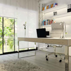 House St Andrews:  Study/office by Principia Design