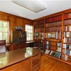 BEFORE Photo - DC Design House:  Study/office by Lorna Gross Interior Design