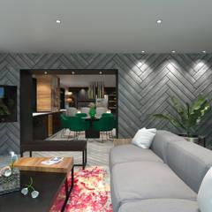 Private House: Salas de jantar  por Tiago Martins - 3D