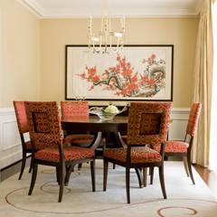 Comedores de estilo  por Lorna Gross Interior Design