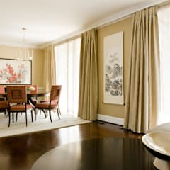 Shanghai Chic - Dining Room:  Dining room by Lorna Gross Interior Design