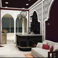 Кафе в восточном стиле: Ресторации в . Автор – Veronika Brown Studio