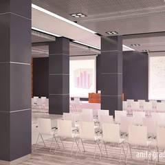 CENTRUM SZKOLENIOWE UOKIK: styl , w kategorii Centra handlowe zaprojektowany przez Gradomska Architekci - Interiors