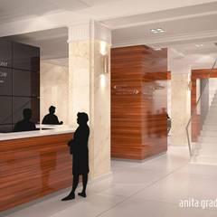 CENTRUM SZKOLENIOWE UOKIK: styl , w kategorii Centra kongresowe zaprojektowany przez Gradomska Architekci - Interiors