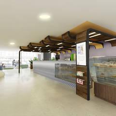 De Lolita - Mayorca Piso 4: Centros comerciales de estilo  por tresarquitectos