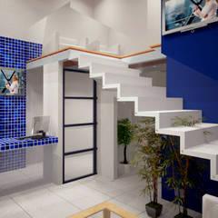 Renders Interiores: Estudios y oficinas de estilo  por CouturierStudio,
