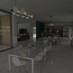 Comedor Principal: Comedores de estilo  por Gastón Blanco Arquitecto