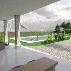 Tarbea AV: Casas de estilo  por Gastón Blanco Arquitecto