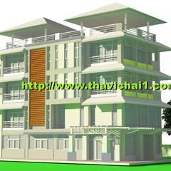 บ้านพักอาศัย 5 ชั้น โดย PROFILE INTERIOR STUDIO ผสมผสาน คอนกรีตเสริมแรง
