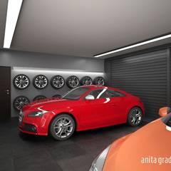 MIEJSKA REZYDENCJA: styl , w kategorii Garaż zaprojektowany przez Gradomska Architekci - Interiors