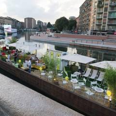 Milano Beach: Sedi per eventi in stile  di studio ferlazzo natoli