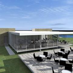 Club House Restaurant Chamonate: Restaurantes de estilo  por Arc Arquitectura