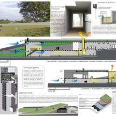Centro Cultural Uberabinha: Centros de congressos  por Cia de Arquitetura