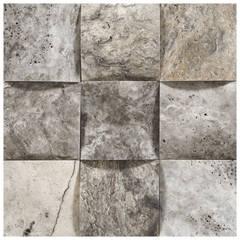 Kepez Yapı Market – Doğaltaş Lavabo Ve Mozaikler:  tarz Evler
