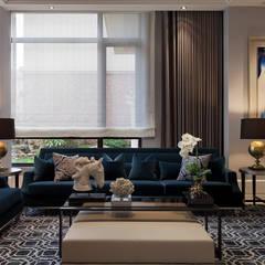 classic Living room by 大觀室內設計工程有限公司