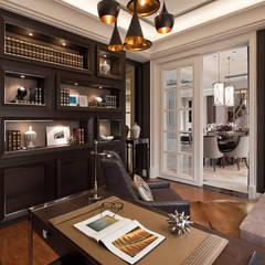 法蘭朵:  書房/辦公室 by 大觀室內設計工程有限公司
