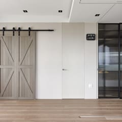 Dormitorios de estilo  por 大觀室內設計工程有限公司