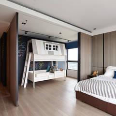 ห้องนอนเด็ก โดย 大觀室內設計工程有限公司,