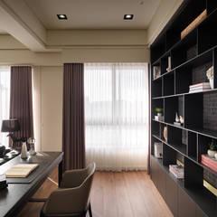Study/office by 星葉室內裝修有限公司