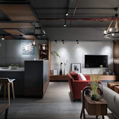 隱藏版第五房 為毛小孩打造專屬貓屋:  餐廳 by 星葉室內裝修有限公司