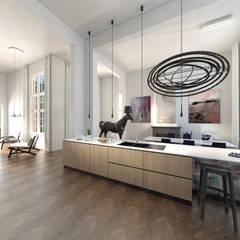 De Rijksadministratie:  Eetkamer door Mei architects and planners