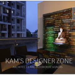 بالکن،ایوان وتراس by KAM'S DESIGNER ZONE
