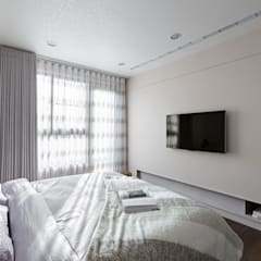 賀澤室內設計 HOZO_interior_design:  臥室 by 賀澤室內設計 HOZO_interior_design