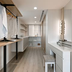 Dressing room by 賀澤室內設計 HOZO_interior_design