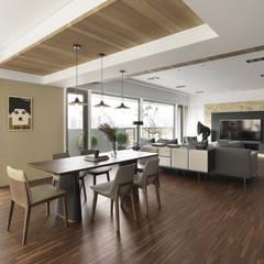 Dining room by 賀澤室內設計 HOZO_interior_design