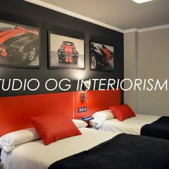 : Hoteles de estilo  de STUDIO OG INTERIORISMO