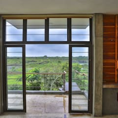 Villa Aaranyak:  Windows by prarthit shah architects,Modern