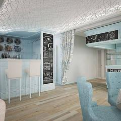 Дизайн интерьера кафе: Бары и клубы в . Автор – Арт-Идея