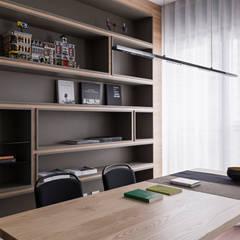 Phòng học/Văn phòng by 賀澤室內設計 HOZO_interior_design