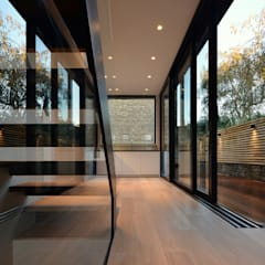 St Paul Street:  Corridor & hallway by Ciarcelluti Mathers Architecture