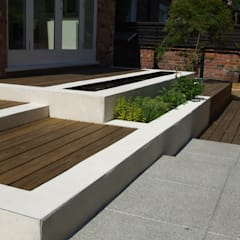 Stylish Contemporary in Didsbury:  Garden by Charlesworth Design