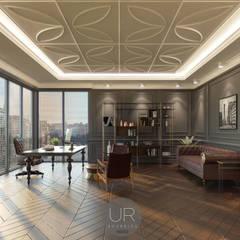Uğur RİCA İÇ MİMARLIK – Ofis Tasarımı / Office Design:  tarz Çalışma Odası