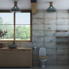 Bathroom by Artcrafts, Industrial